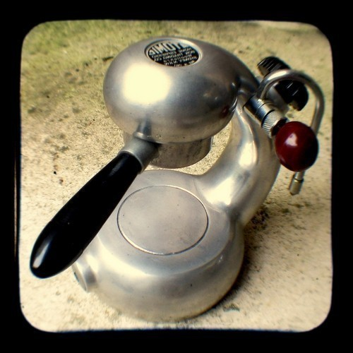 Coffee Photo Print 5x5 TtV Retro Atomic Coffee Maker Photograph - Vintage Style Kitchen Decor on ...